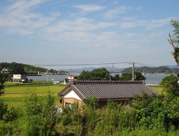 自然豊かな癒しのエリア・北区細江町気賀の住宅用地のメイン写真